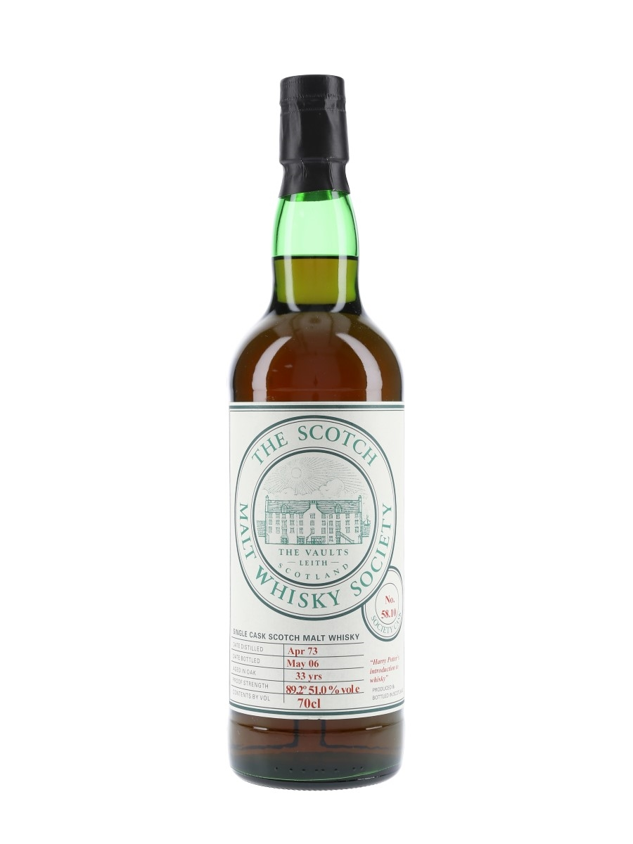 SMWS 58.10 Harry Potter's Introduction To Whisky Strathisla 1973 70cl / 51%