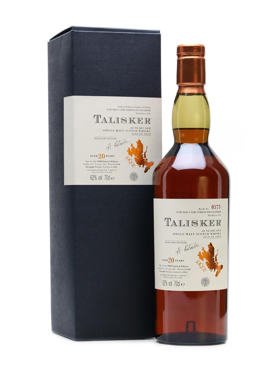 Talisker 1981 Sherry Cask 20 Years Old 70cl
