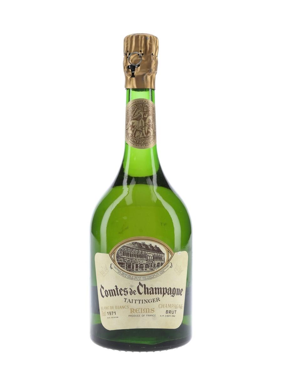 Taittinger 1971 Comtes De Champagne Blanc De Blancs 75cl