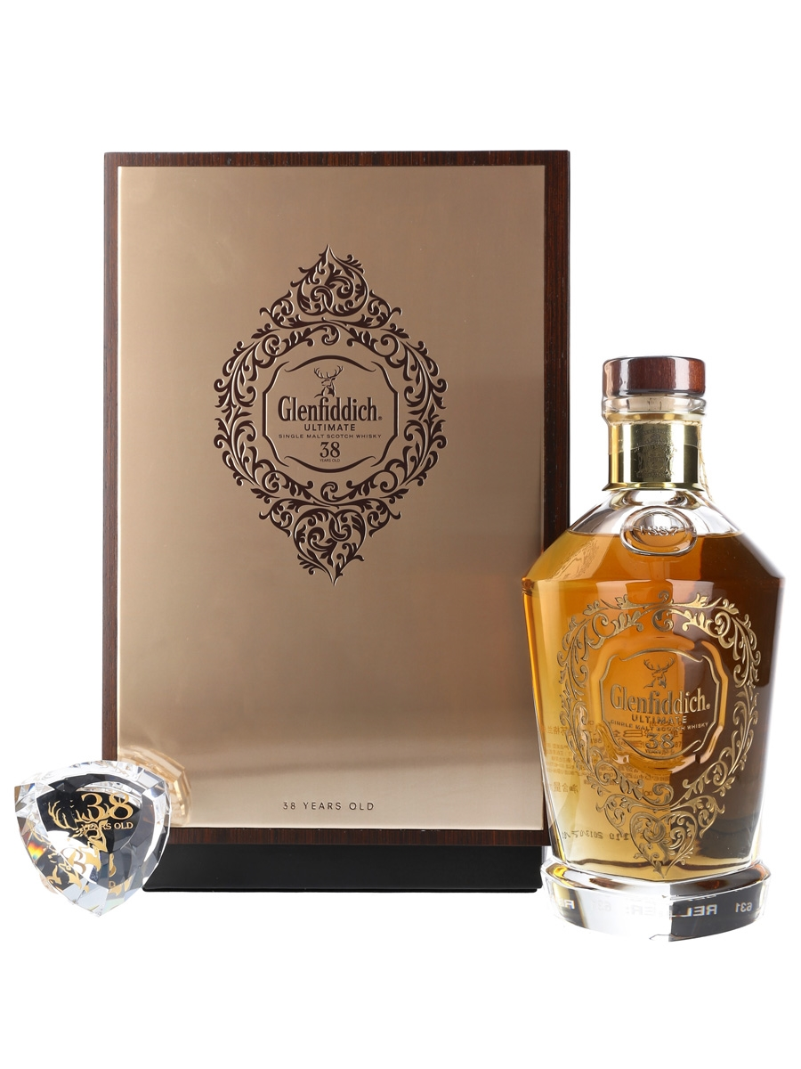 Glenfiddich Ultimate 38 Year Old Bottled 2013 70cl / 40%