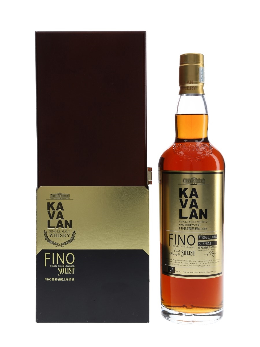 Kavalan Solist Fino Sherry Cask Distilled 2010, Bottled 2017 70cl / 57%