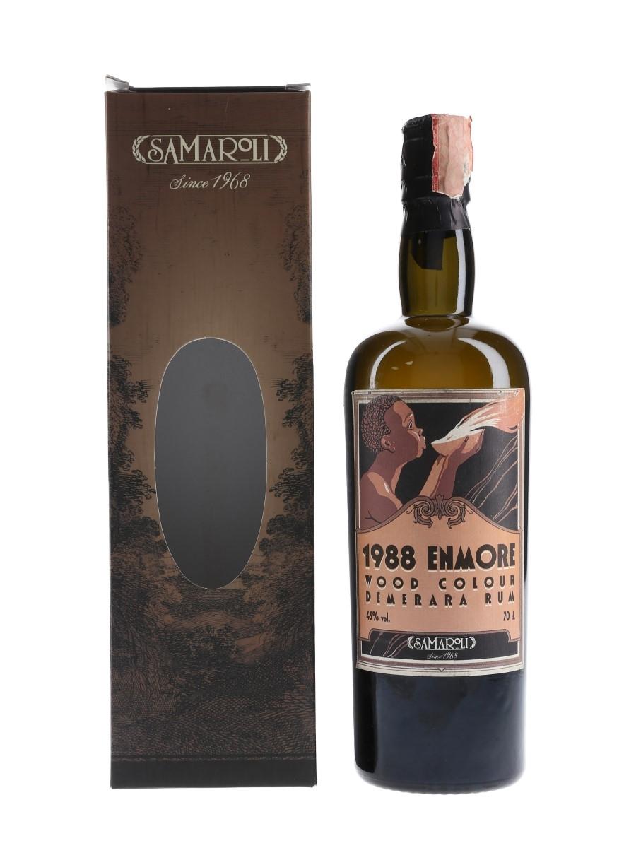 Enmore 1988 Demerara Rum Bottled 2002 - Samaroli 70cl / 45%