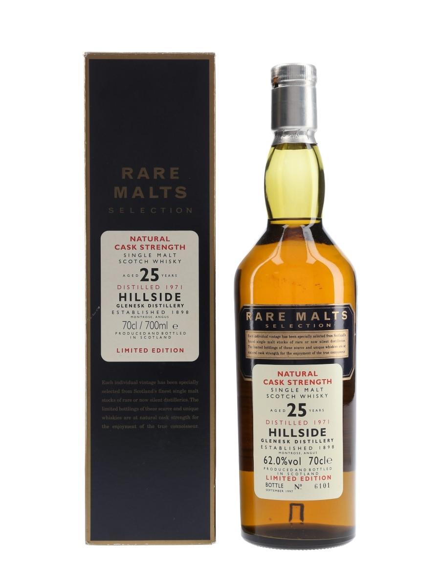 Hillside 1970 25 Year Old Bottled 1997 - Rare Malts Selection 70cl / 62%