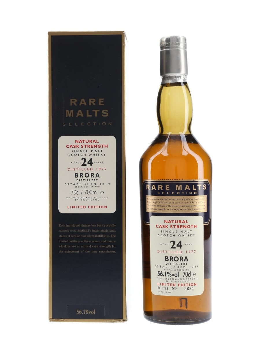 Brora 1977 24 Year Old Bottled 2001 - Rare Malts Selection 70cl / 56.1%