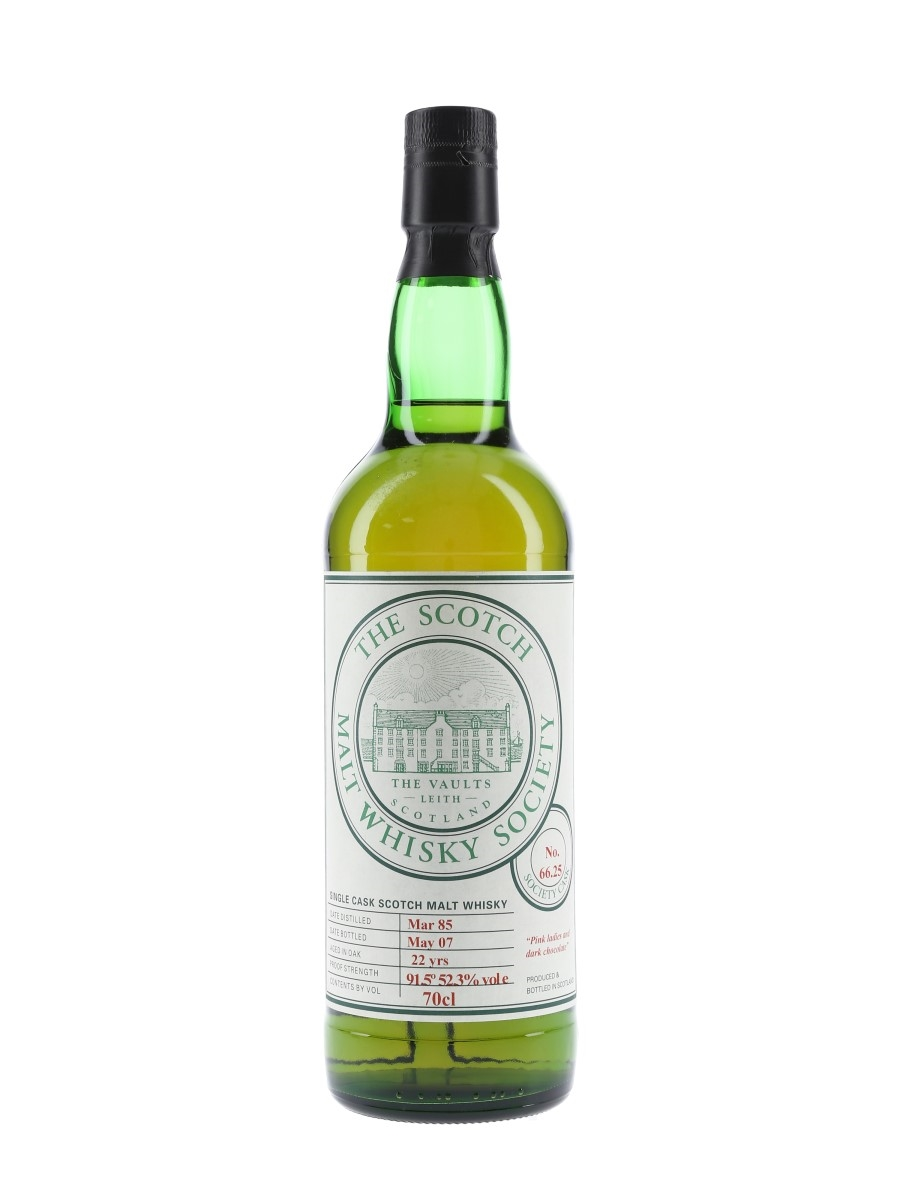 SMWS 66.25 Pink Ladies And Dark Chocolate Ardmore 1985 70cl / 52.3%