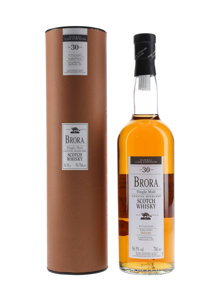 Brora 30 Year Old 4th Release Special Releases 2005 70cl / 56.3%