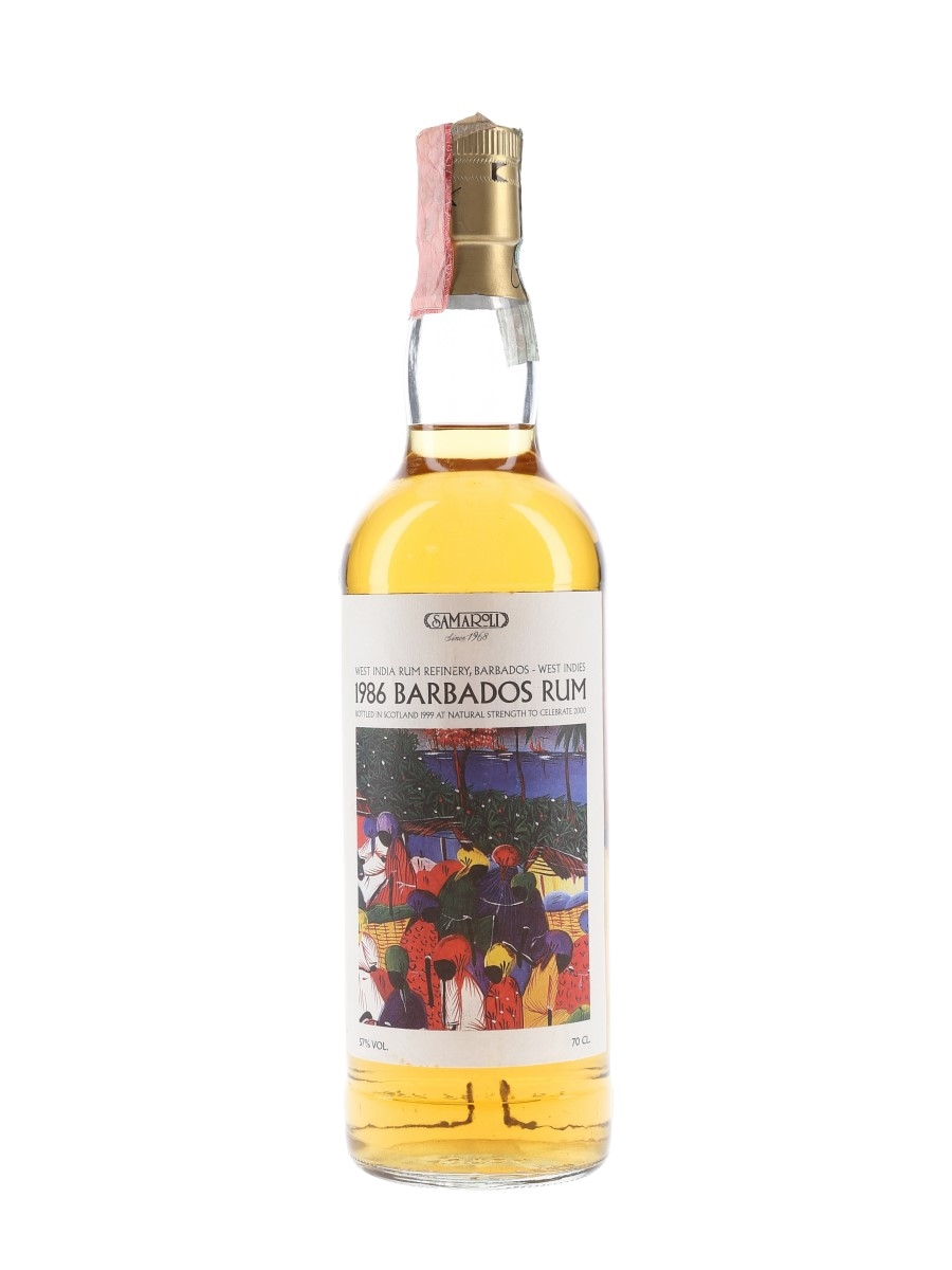 Samaroli 1986 Barbados Rum West India Rum Refinery 70cl / 57%