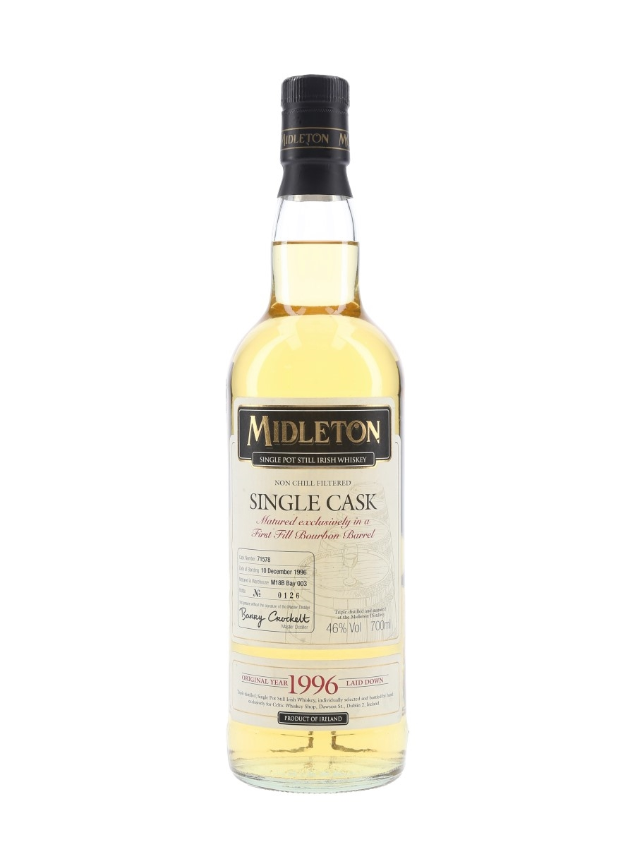 Midleton Single Cask 1996 Celtic Whiskey Shop 70cl / 46%