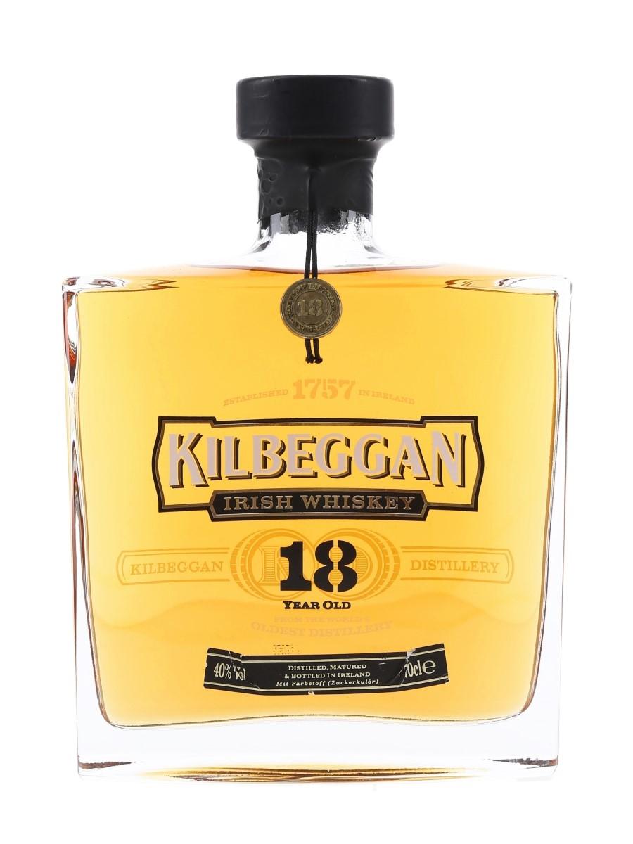 Kilbeggan 18 Year Old  70cl / 40%