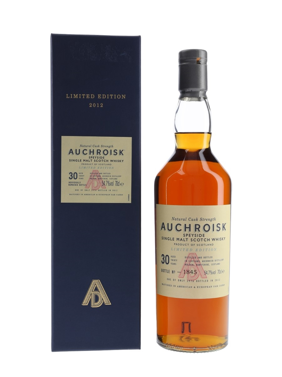 Auchroisk 1982 30 Year Old Special Releases 2012 70cl / 54.7%