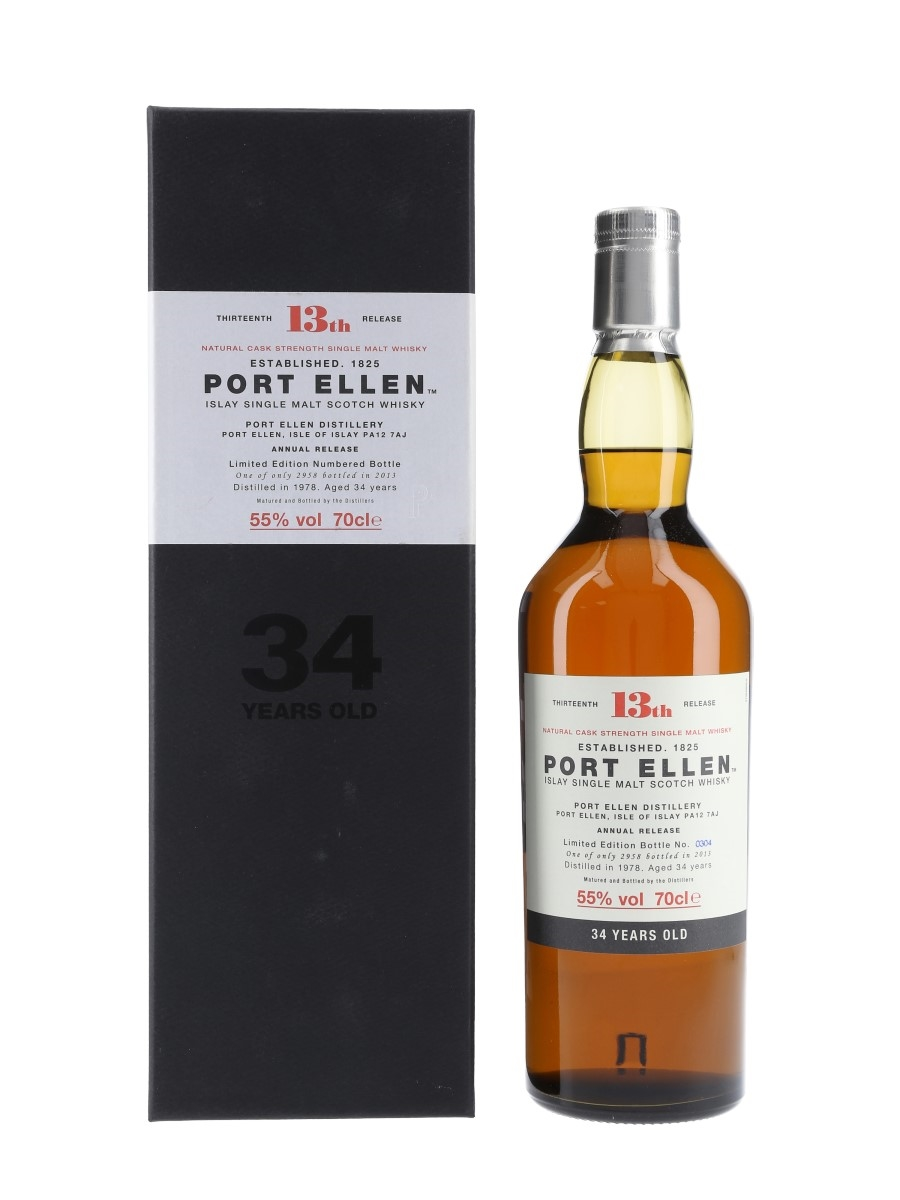 Port Ellen 1978 34 Year Old Special Releases 2013 - 13th Releases 70cl / 55%