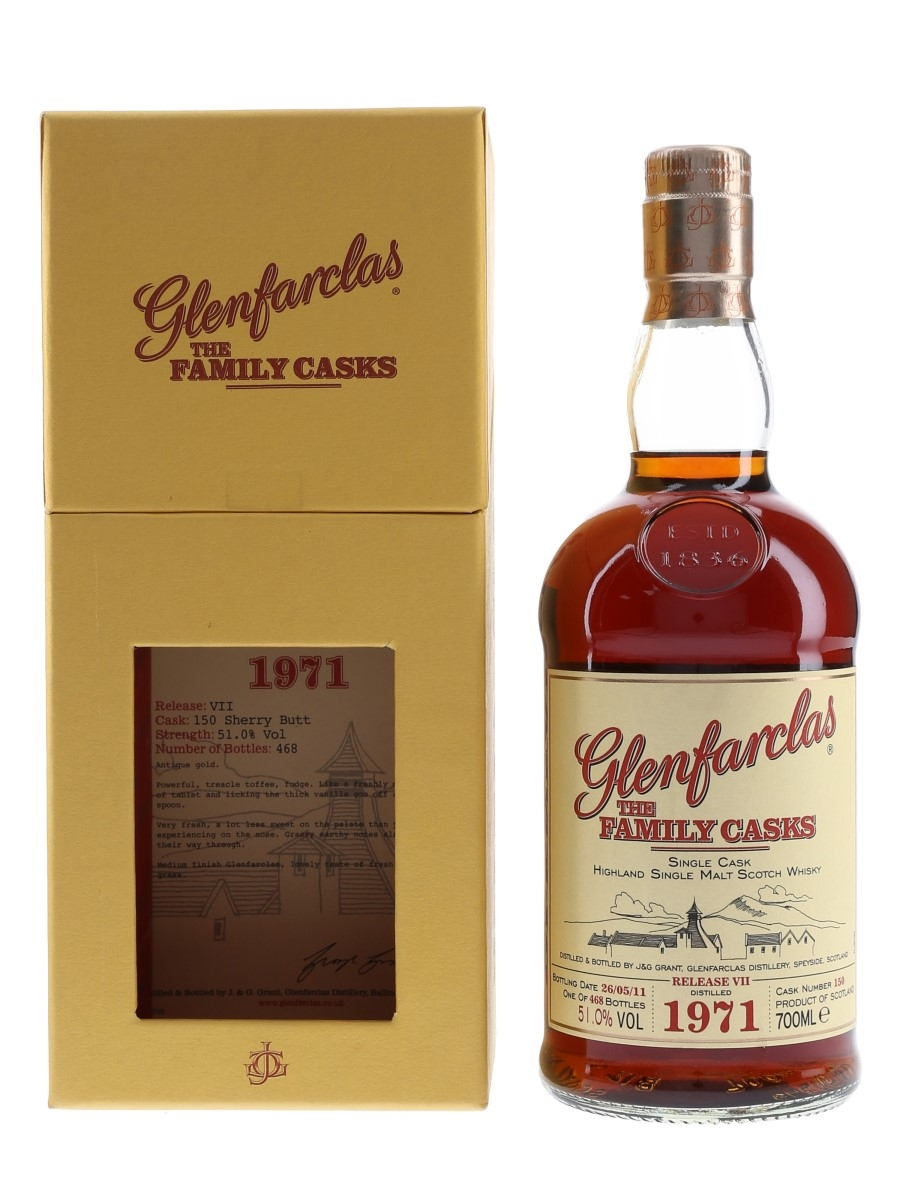 Glenfarclas 1971 The Family Casks Bottled 2011 70cl / 51%