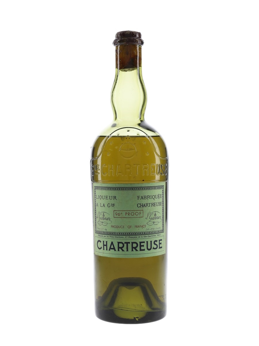 Chartreuse Green Bottled 1951-1956 75cl / 55%