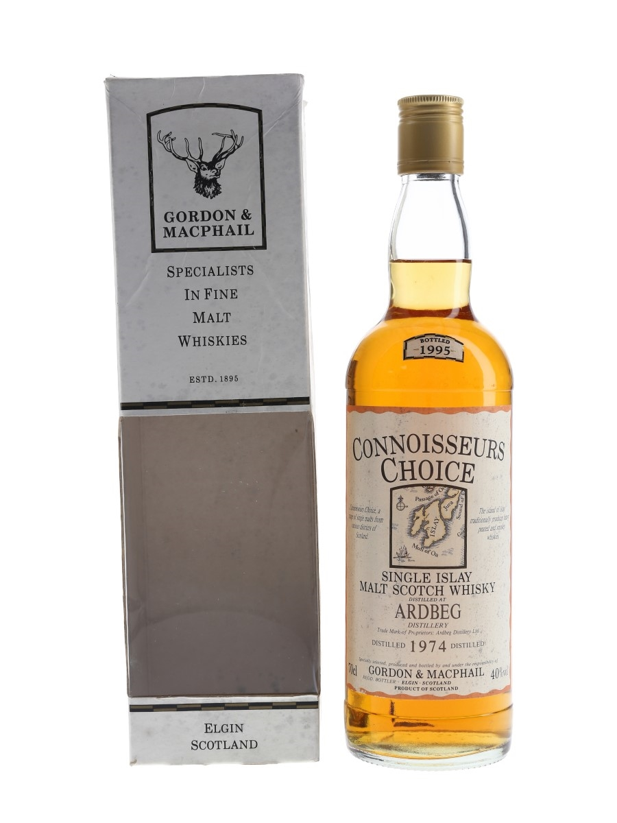 Ardbeg 1974 Bottled 1995 - Connoisseurs Choice 70cl / 40%