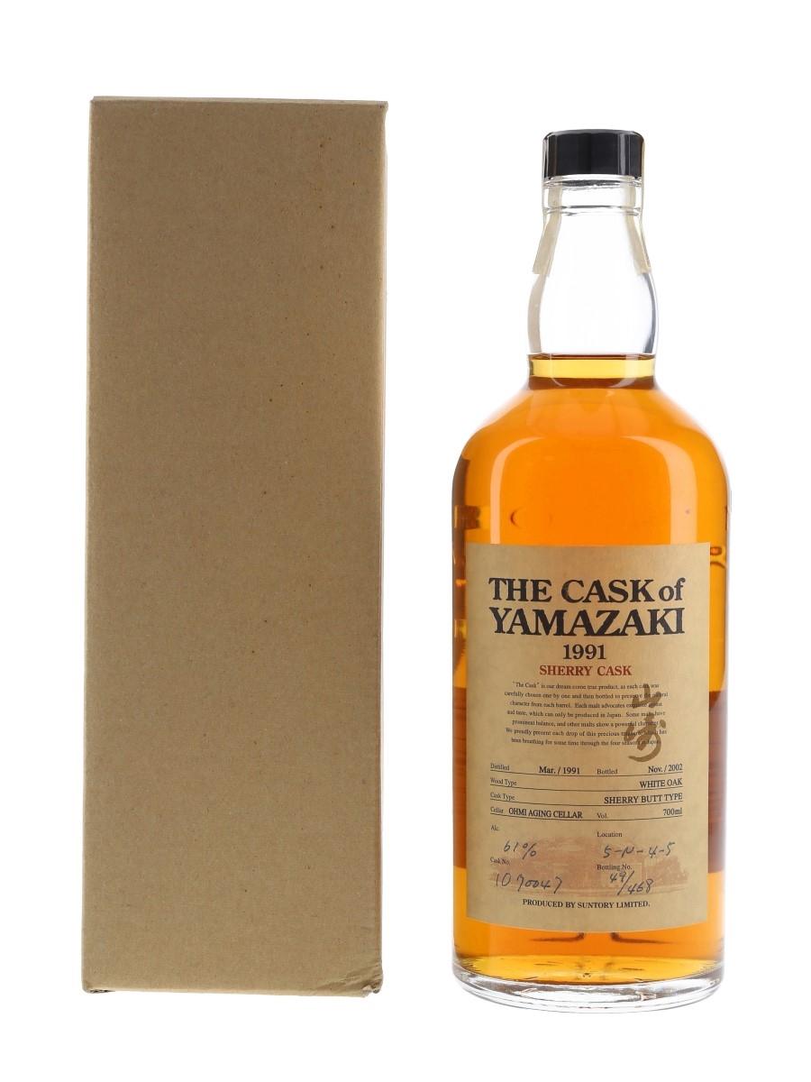Yamazaki 1991 Sherry Cask Cask 1090047 70cl / 61%