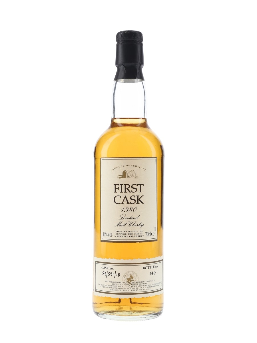 Bladnoch 1980 16 Year Old - First Cask 70cl / 46%