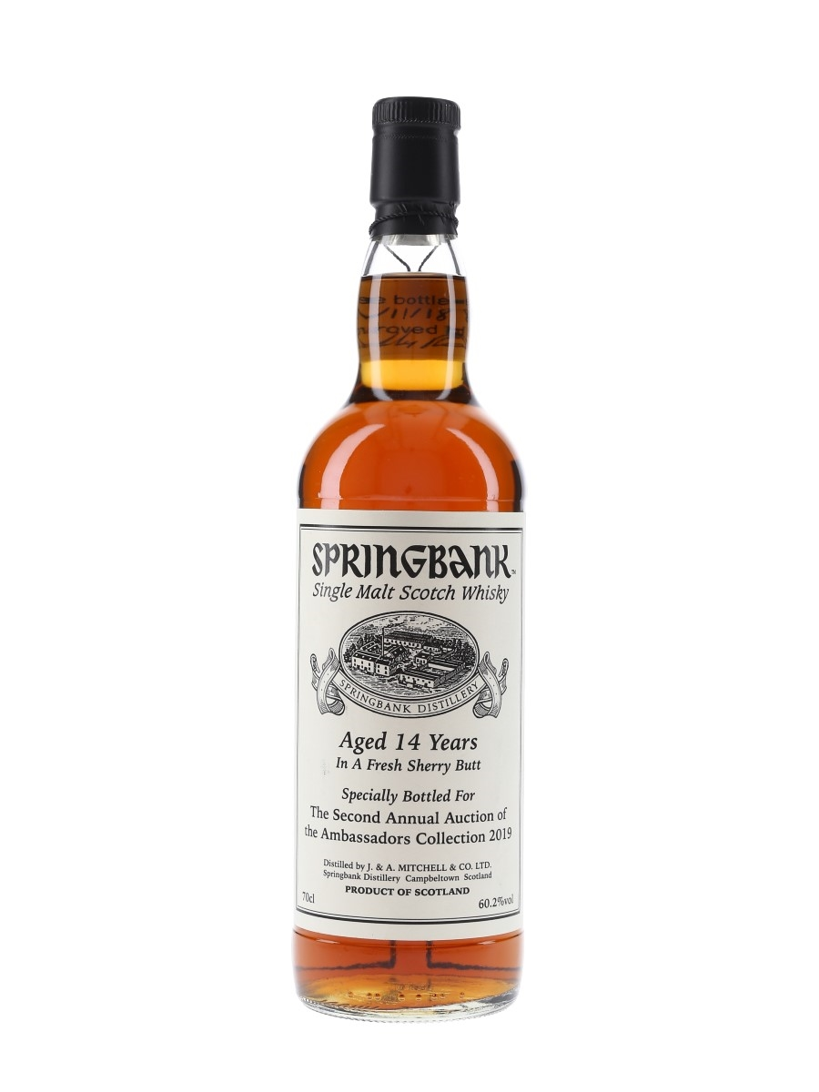 Springbank 14 Year Old Bottle 1 Of 1 70cl / 60.2%
