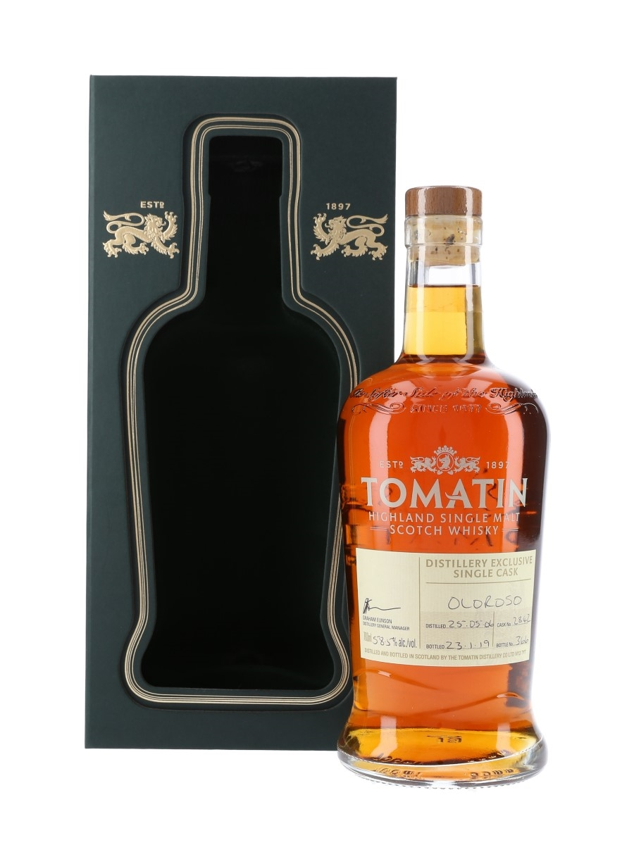 Tomatin 1996 Bottled 2019 - Distillery Exclusive 70cl / 58.5%
