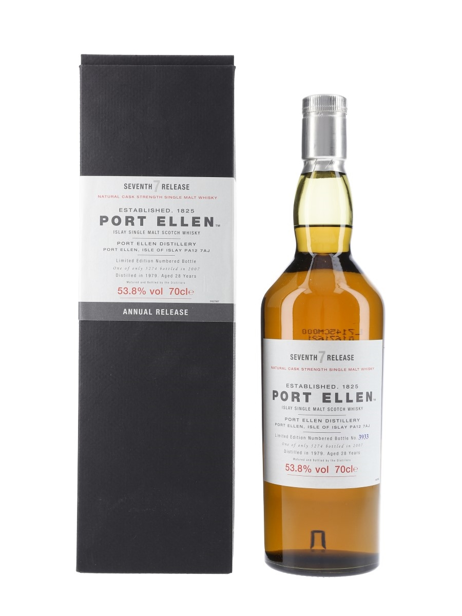 Port Ellen 1979 – 7th Release 28 Year Old - Special Releases 2007 70cl / 53.8%