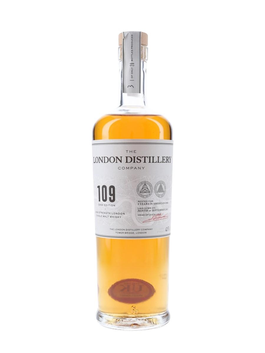 London Distillery Company 109 Cask Edition Single Cask At 63.5% ABV 70cl / 63.5%