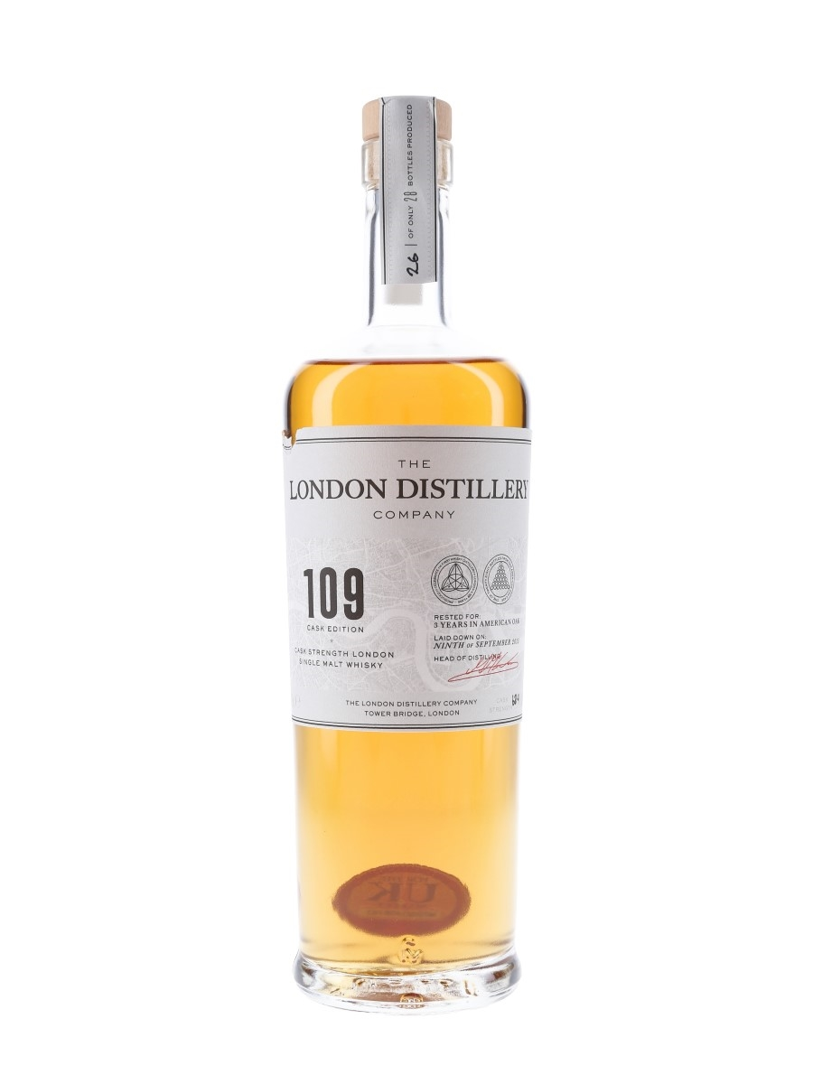 London Distillery Company 109 Cask Edition Single Cask At 63.4% ABV 70cl / 63.4%