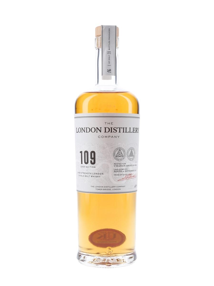London Distillery Company 109 Cask Edition Single Cask At 63.4% ABV 70cl / 63.4%