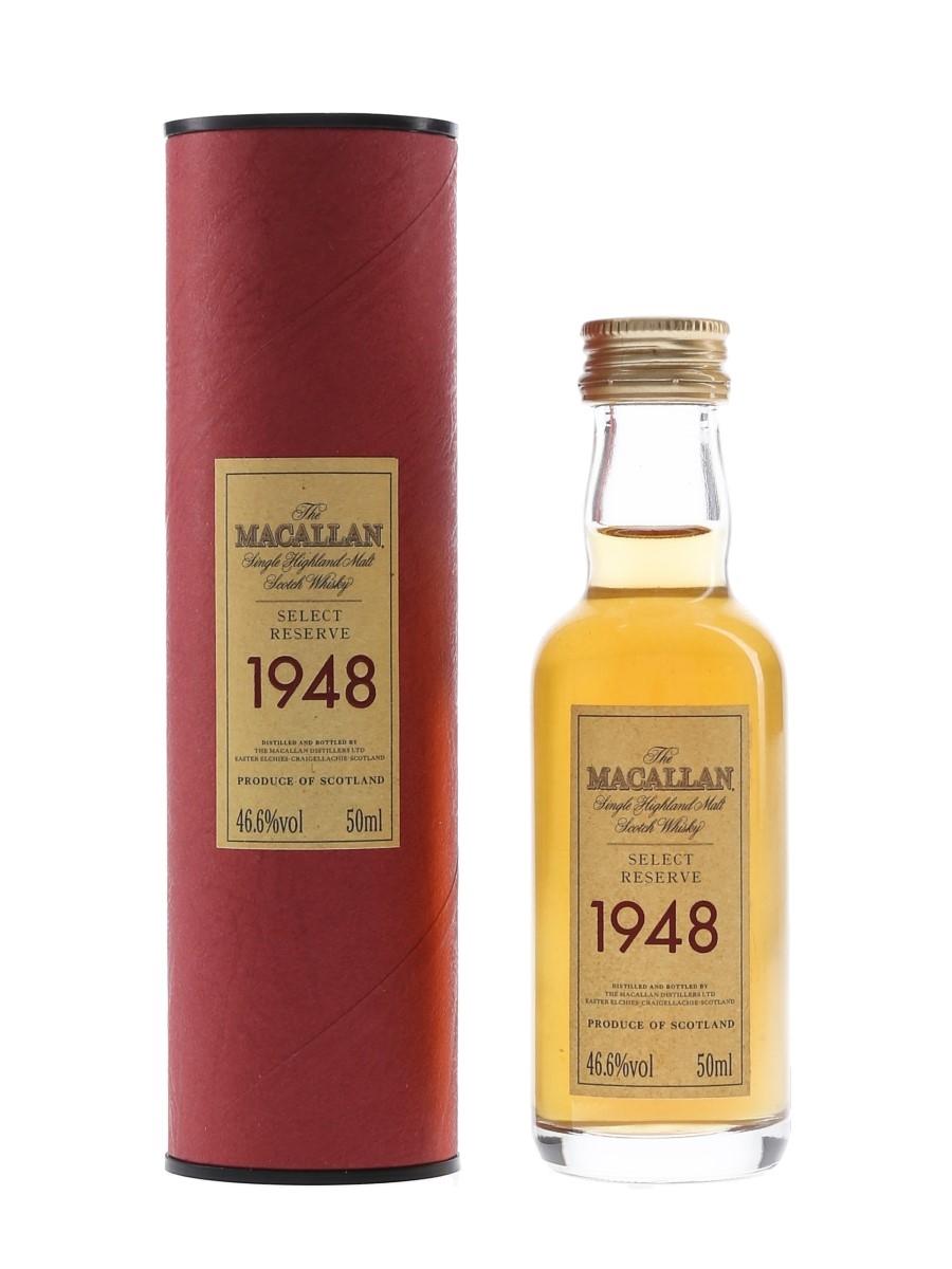 Macallan 1948 Select Reserve  5cl / 46.6%