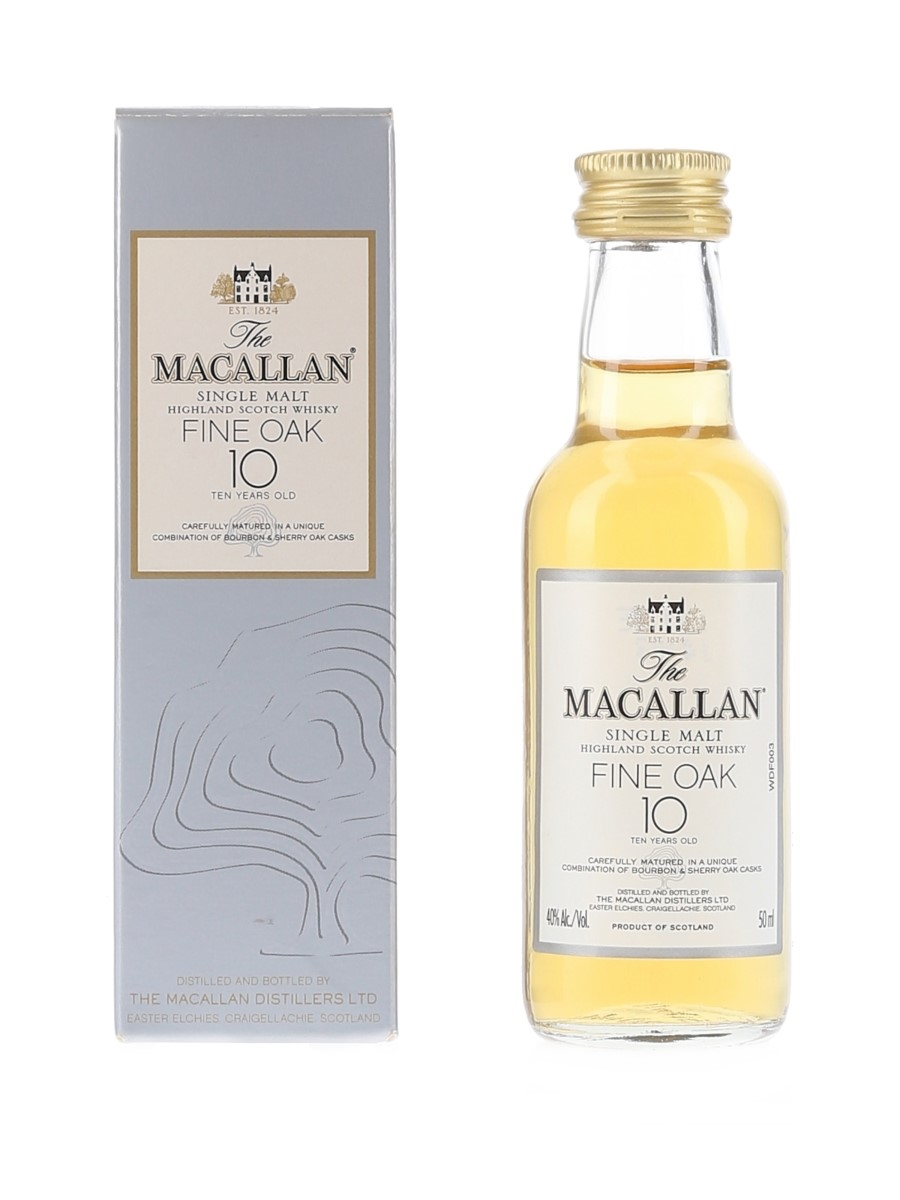Macallan 10 Year Old Fine Oak  5cl / 40%
