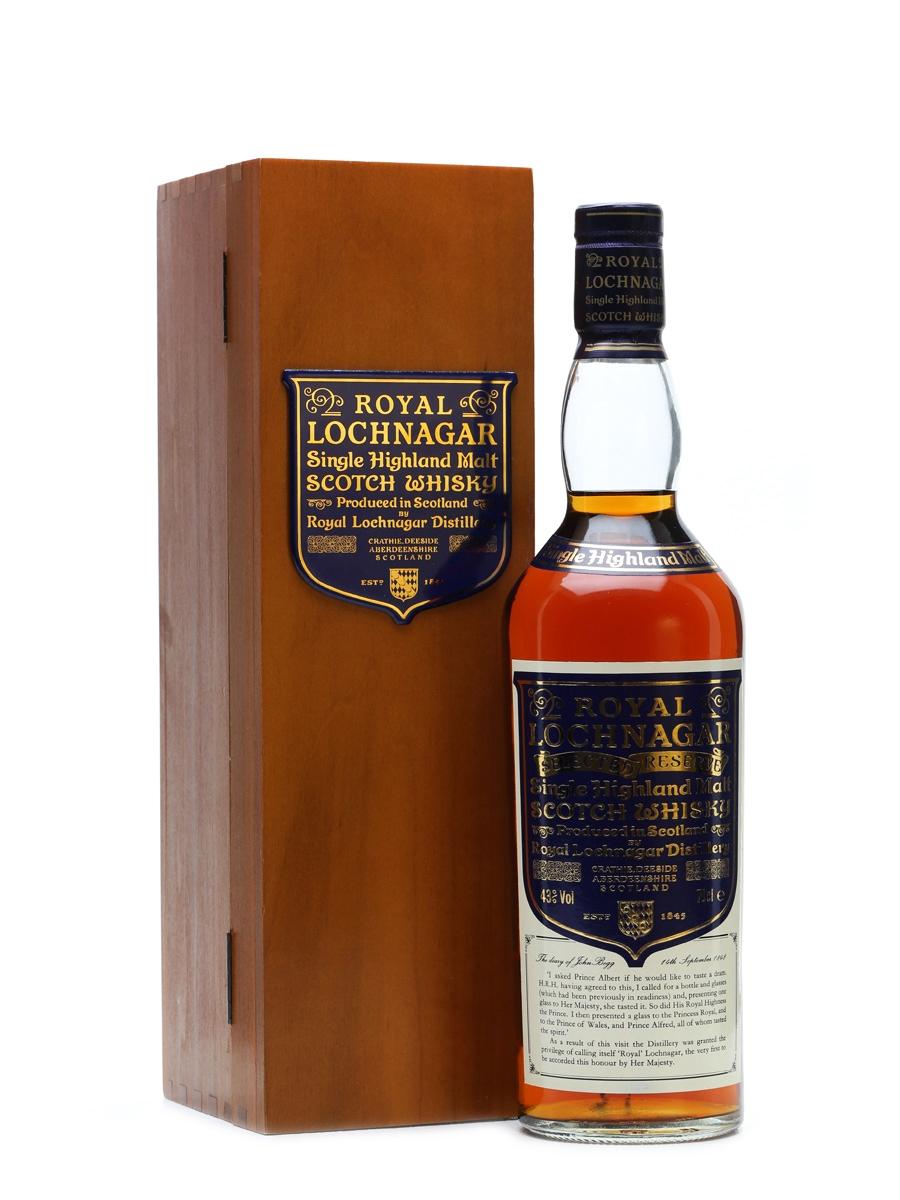 Royal Lochnagar Selected Reserve Bottled 1990s 70cl / 43%