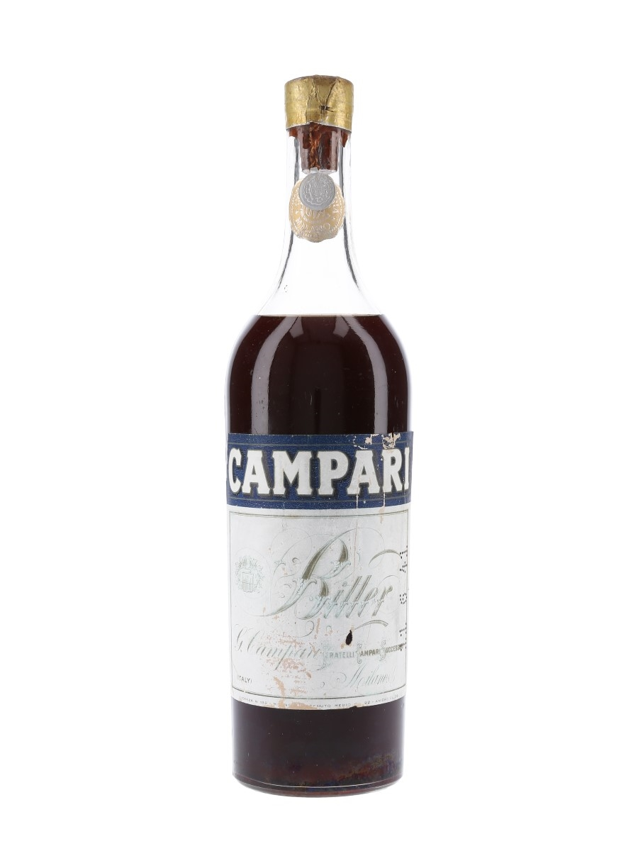 Campari Bitter Bottled 1933-1944 92cl