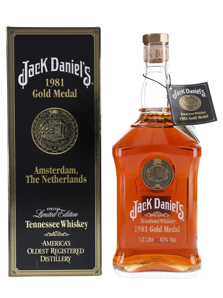 Jack Daniel's 1981 Gold Medal  100cl / 43%