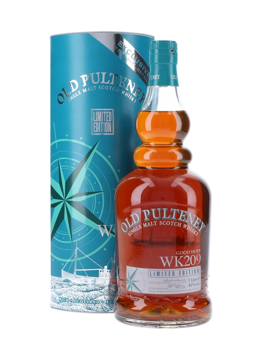Old Pulteney Good Hope WK209 Travel Retail 100cl / 46%