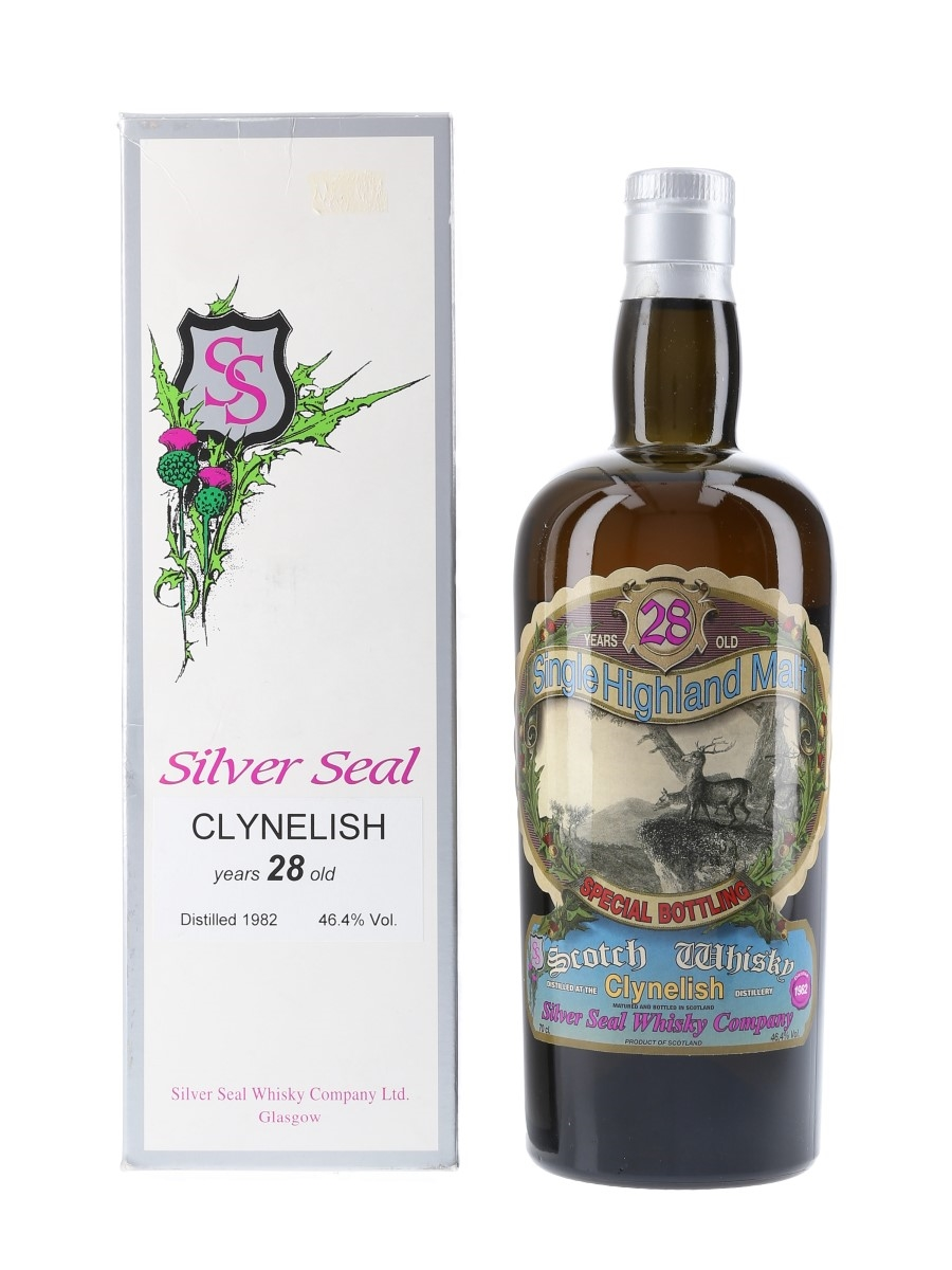 Clynelish 1982 28 Year Old - Silver Seal 70cl / 46.4%