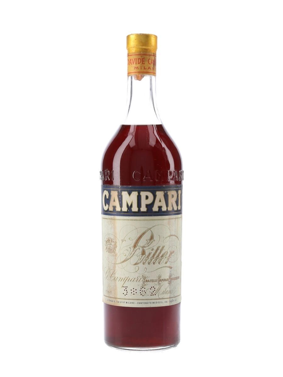Campari Bitter Bottled 1950s-1960s 100cl / 25%