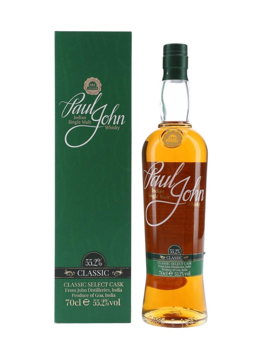 Paul John Classic Select Cask 70cl / 55.2%