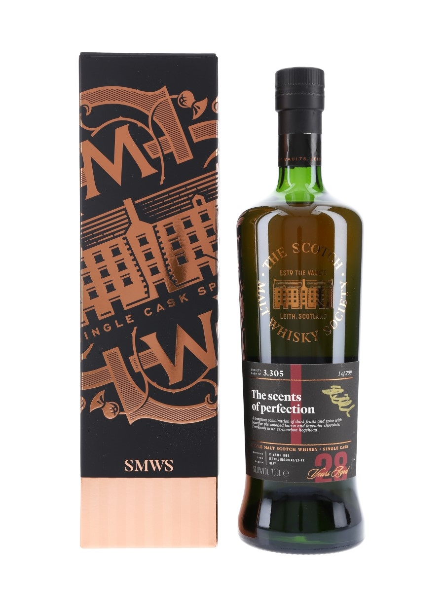 SMWS 3.305 The Scents Of Perfection Bowmore 1989 70cl / 52.8%