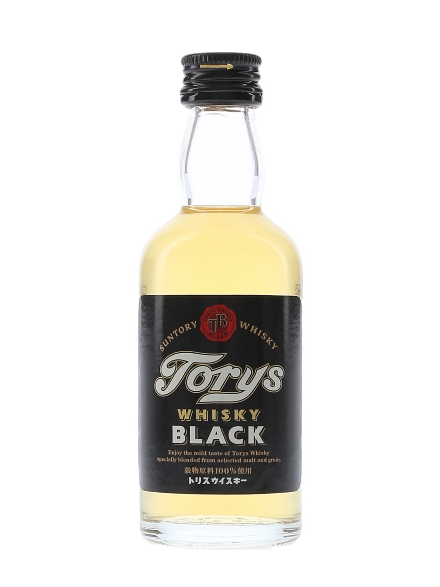 Suntory Torys Black Whisky Bottled 2000s 5cl / 37%
