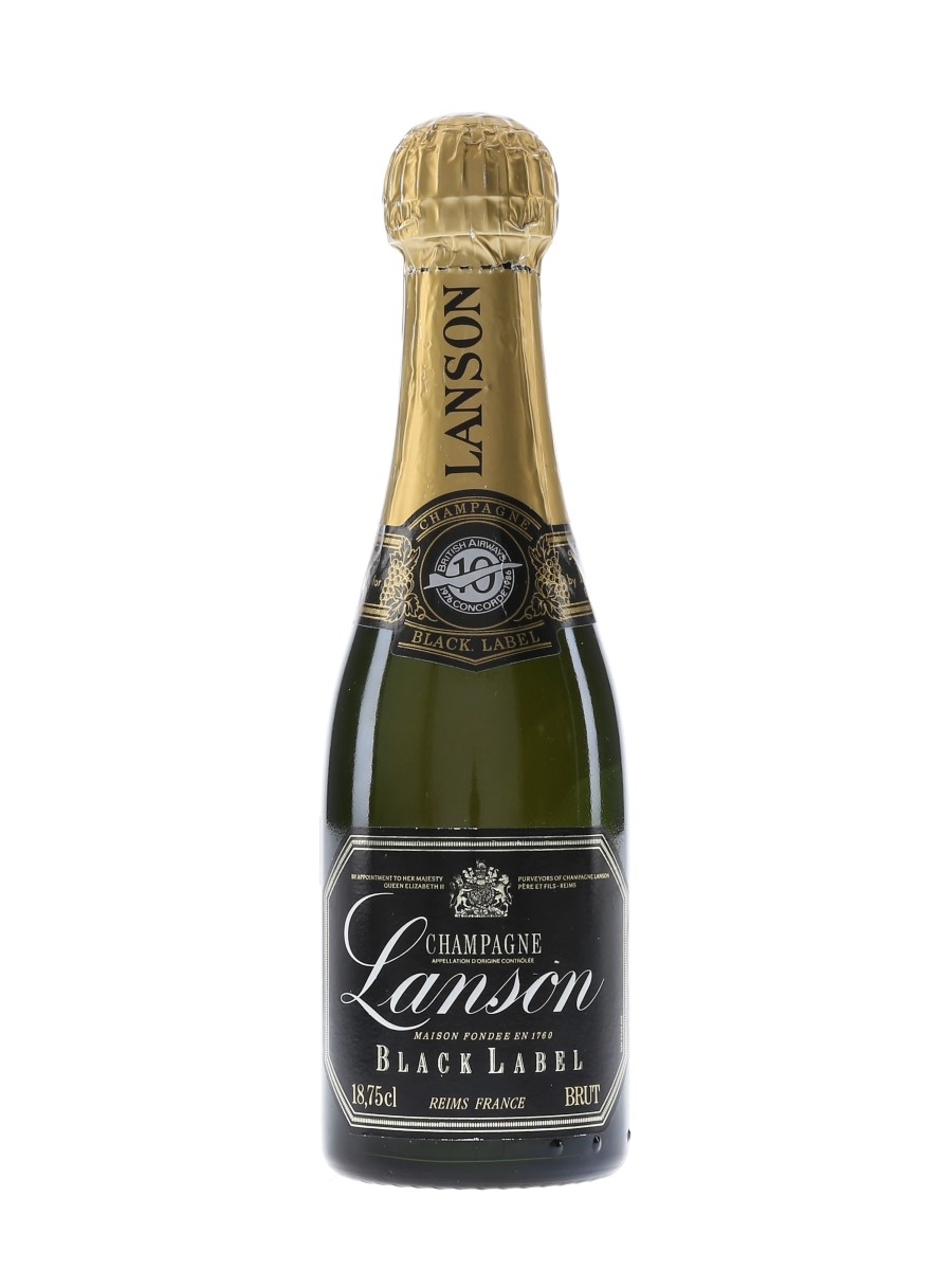 Lanson Black Label 10 Years Of Concorde 1976-1986 18.75cl