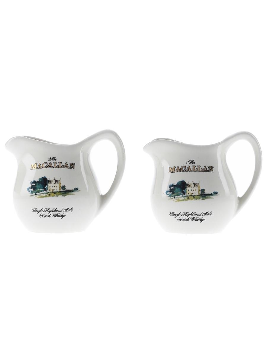 Macallan Ceramic Water Jugs Small