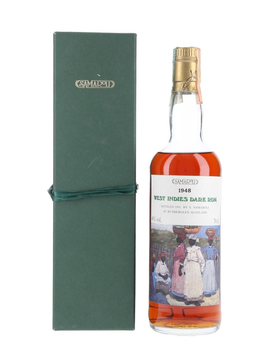 Samaroli 1948 West Indies Dark Rum Bottled 1991 70cl / 49%