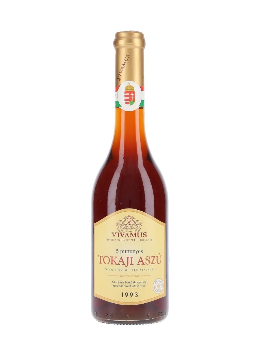 Vivamus Tokaji 1993 Aszu 5 Puttonyos 50cl / 13%