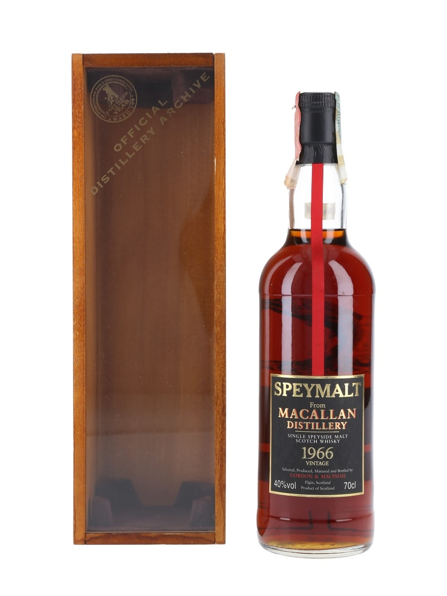 Macallan 1966 Speymalt Bottled 1998 - Gordon & MacPhail 70cl / 40%