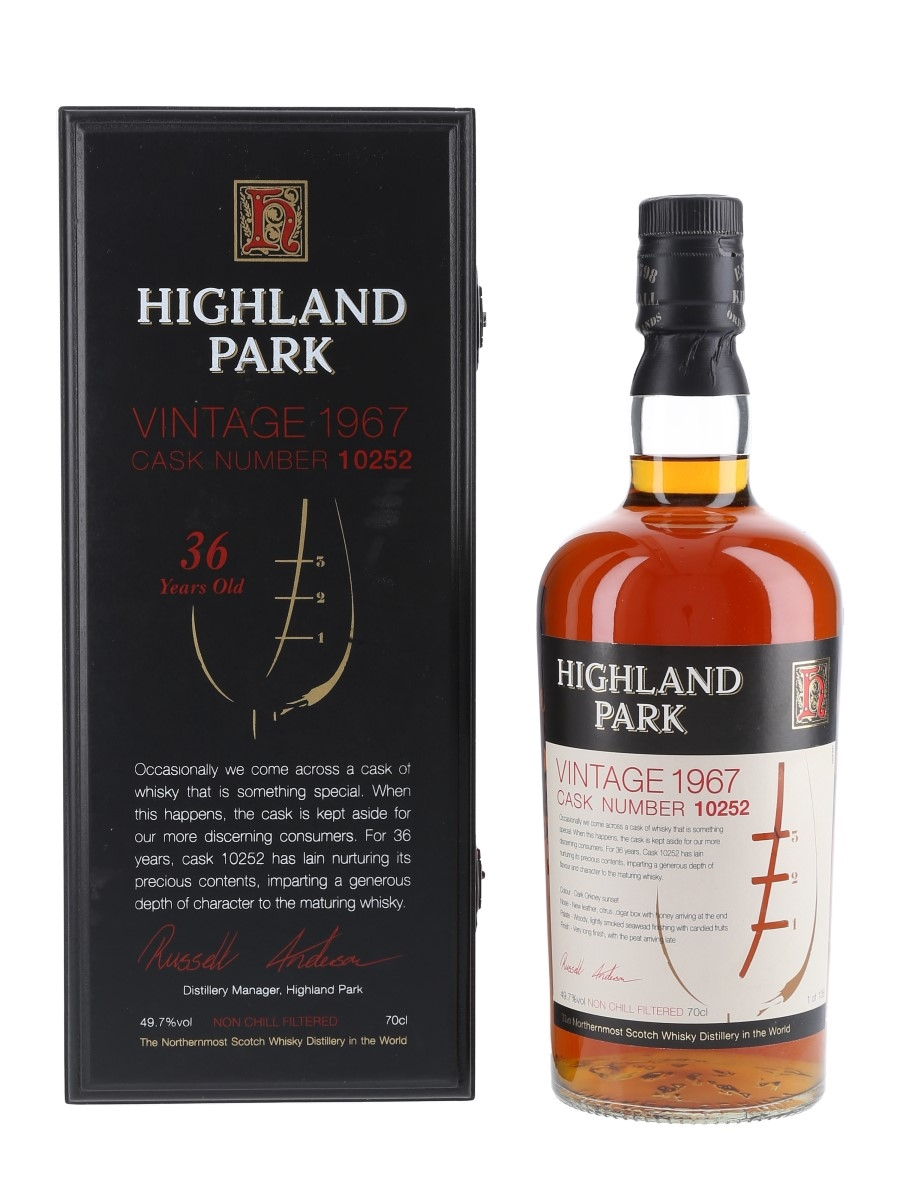 Highland Park 1967 36 Year Old 70cl / 49.7%