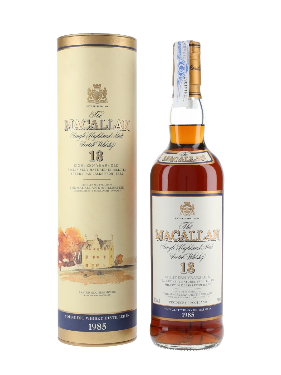 Macallan 1985 And Older 18 Year Old 70cl / 43%