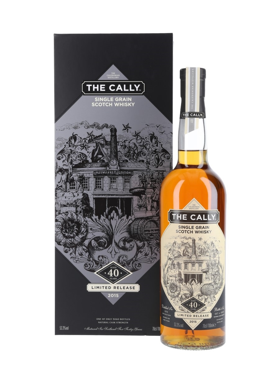 Caledonian The Cally 1974 40 Year Old Bottled 2015 70cl / 53.3%