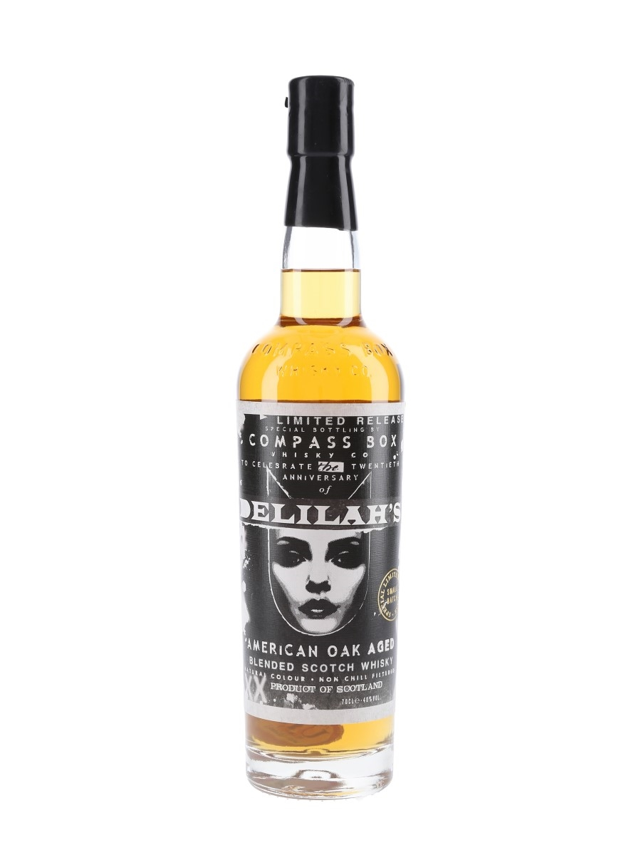 Delilah's Compass Box 70cl / 40%
