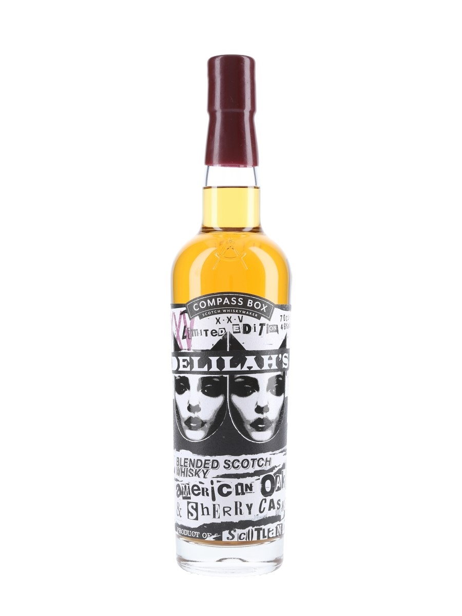 Delilah's XXV Limited Edition Compass Box 70cl / 46%