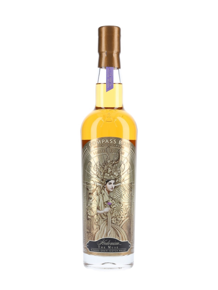 Hedonism The Muse Compass Box 70cl / 53.3%
