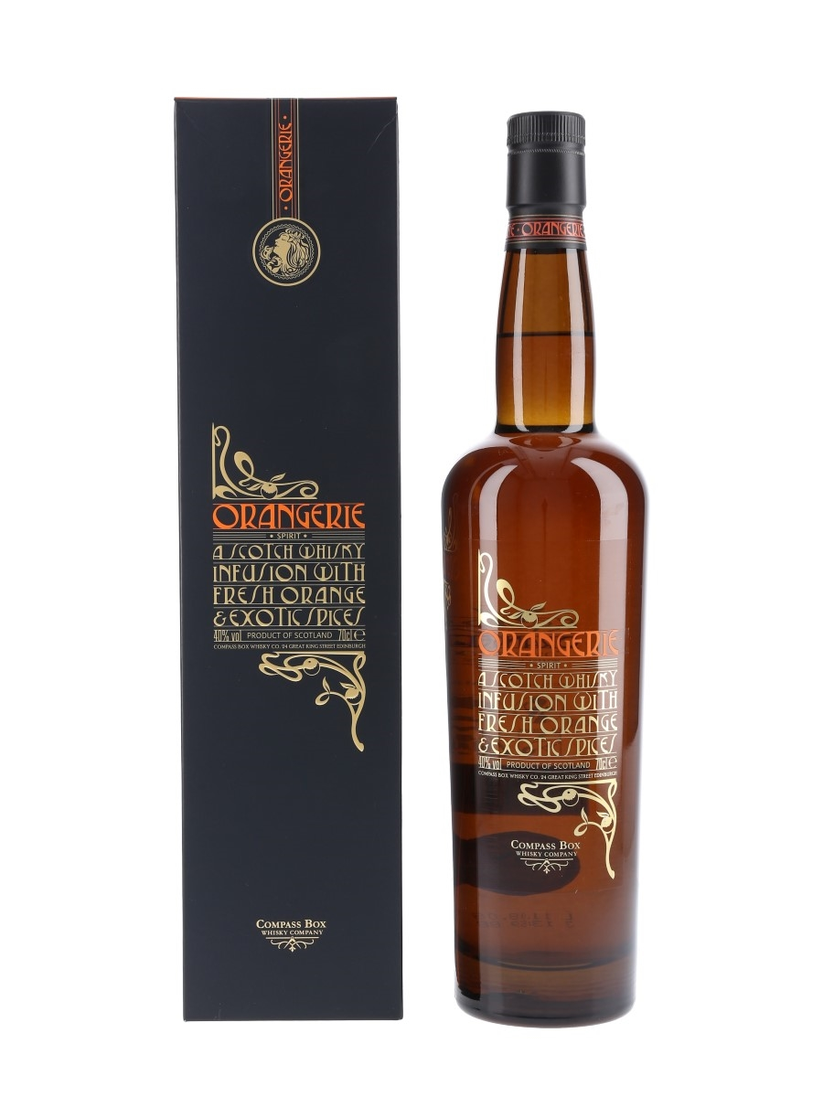 Orangerie Whisky Infusion Compass Box 70cl / 40%