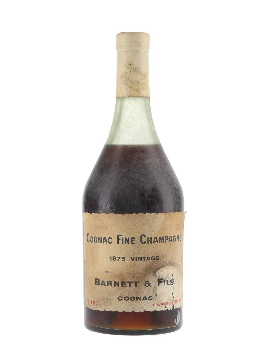 Barnett & Fils 1875 Fine Champagne Cognac  70cl / 40%